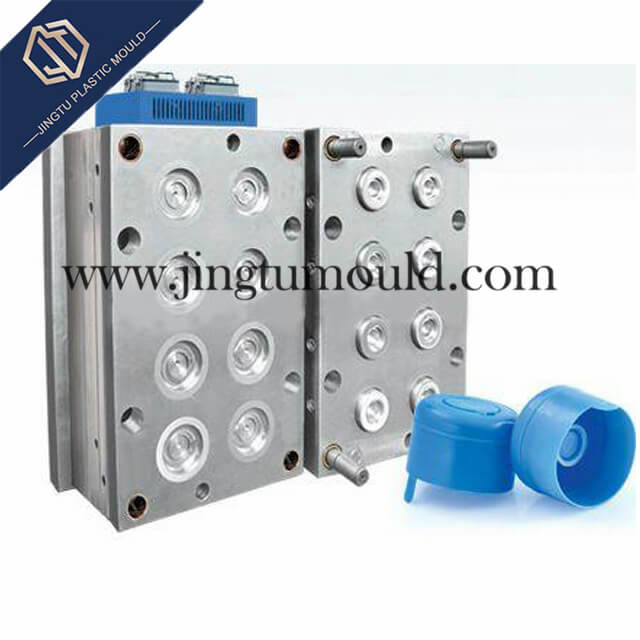8-Cavity PE Plastic Bottle Cap Mould