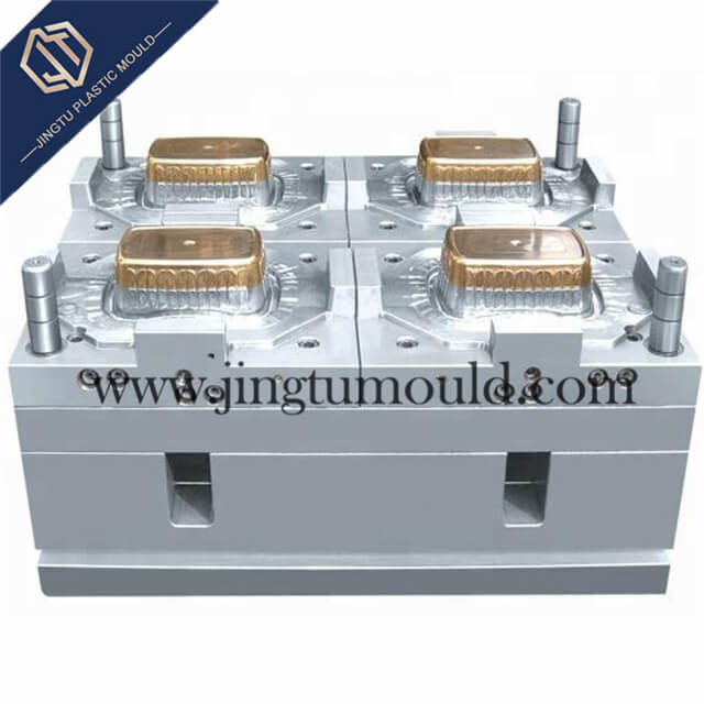 Copper Insert Mould for PP Disposable Transparent Thin-walled Box